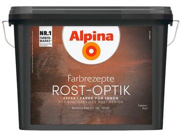 Alpina ALPINA : Innenfarbe »Farbrezepte - Rost-Optik«, Effektlasur für Innen, 1,2 l, braun, Rostbraun