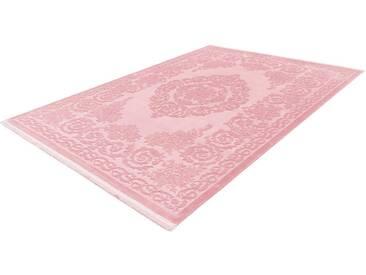 LALEE Teppich »Noblesse 900«, rechteckig, Höhe 12 mm, rosa, 12 mm, rosa