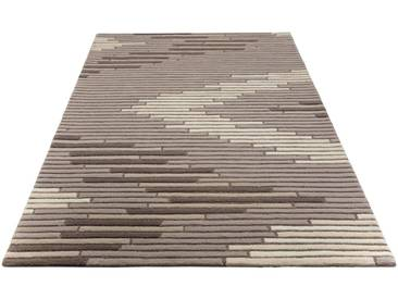 Theko Exklusiv Teppich »Shelly«, rechteckig, Höhe 18 mm, braun, 18 mm, taupe