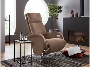 W.SCHILLIG Relaxsessel »jupiter« mit Sternfuß, braun, chocolate S37
