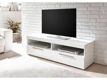 Bruno Banani TV-Lowboard »GOBA«, Breite 142 cm, weiß, weiß