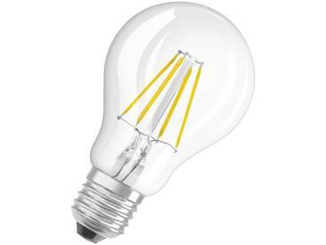 Osram LED Retrofit CLASSIC A Dim - Dimmbare Lampe »RF CLAS A 40 DIM 4.5 W/827 E27 N/A«, weiß, transparent