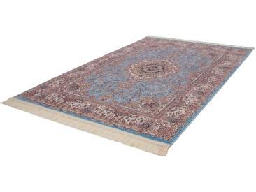 LALEE Orientteppich »Isfahan 901«, rechteckig, Höhe 10 mm, blau, 10 mm, blau