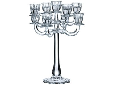 Nachtmann Kerzenleuchter »Ravello 9-armig«, weiß, H: 41 cm, transparent