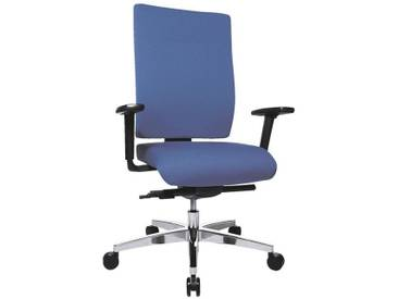 TOPSTAR Bürostuhl inkl. Armlehnen »Profi Star 15«, blau, blau