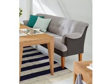 Guido Maria Kretschmer Home&Living GMK Home & Living Tischsofa «Luunja», in 2 Breiten, grau, klein, grau/anthrazit