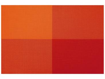 Contento Platzset »Zarah« (Set 4-tlg), orange, Vinyl, orange