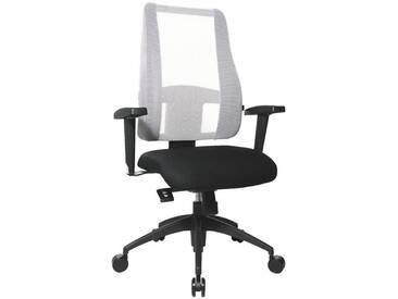 TOPSTAR Bürostuhl ohne Armlehnen »Lady Sitness Deluxe«, weiß, weiß