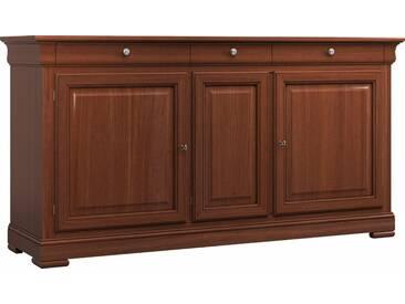 SELVA Sideboard »Constantia« Modell 7501, furniert in vier schönen Holzfarben, braun, nussbaumfarbig antik