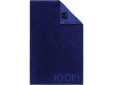 Joop! Gästehandtücher »Doubleface«, in extraflauschiger Walkfrottier-Qualität, blau, Walkfrottee, saphir