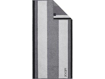 Joop! Handtücher »Diamond Stripes«, mit verschiedenen Streifen, grau, stone