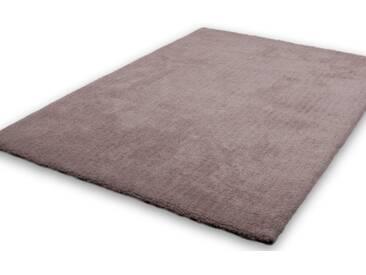 LALEE Hochflor-Teppich »Velvet«, rechteckig, Höhe 25 mm, natur, 25 mm, beige