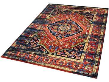 Impression Teppich »Vintage 1614«, rechteckig, Höhe 13 mm, bunt, 13 mm, bunt