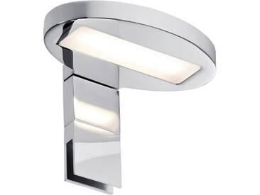 Paulmann Spiegelleuchte »Aufschrankleuchte LED Oval 3,2W Chrom«, 1-flammig, silberfarben, 1 -flg. /, chromfarben