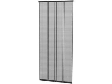 hecht international HECHT Insektenschutz-Vorhang »COMFORT«, anthrazit/schwarz, BxH: 100x220 cm, schwarz, Türen, 100 cm x 220 cm, schwarz