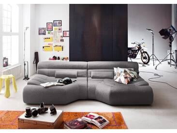 KAWOLA XXL Big Sofa Stoff inkl. Kissen versch. Farben »TARA«