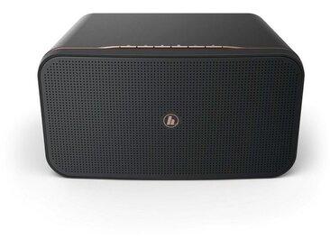 Hama WLAN Bluetooth Lautsprecher, Amazon Alexa, Smartphone/TV »WiFi-Streaming, 2000AMBT«, schwarz, Schwarz