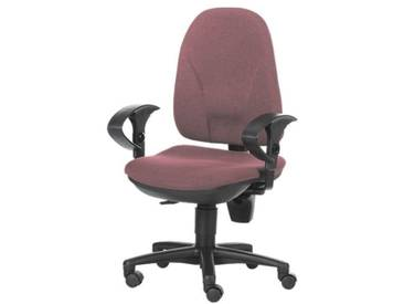 TOPSTAR Bürostuhl mit Armlehnen »Point 30«, rot, bordeaux