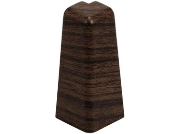 EGGER Außenecke »Eiche dunkelbraun«, Außeneck-Element für 6cm Sockelleiste, 2 Stk., braun, eiche dunkel
