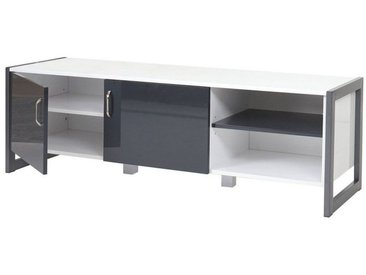 MCW TV-Rack »-B27 weiß/grau«