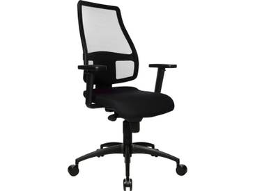 TOPSTAR Bürostuhl »Syncro Net«, schwarz, schwarz