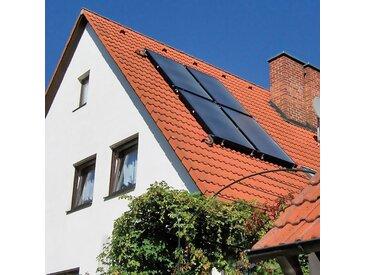 Sunset SUNSET Set: Solaranlagen »SUNone 6 HZ/2F«, für 2-4 Personen im Haushalt, schwarz, mit Frischwasserspeicher, schwarz