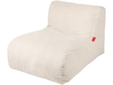 OUTBAG Sitzsack »Newlounge Canvas«, wetterfest, für den Außenbereich, BxT: 90x120 cm, natur, naturfarben