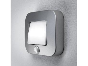 Osram LED Nachtlicht, batteriebetrieben, mit Bewegungssensor »NIGHTLUX Hall«, silberfarben, silber