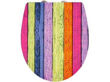 ADOB WC-Sitz »Imola Colours«, Mit Absenkautomatik, bunt, bunt/lila/rosa/gelb/orange
