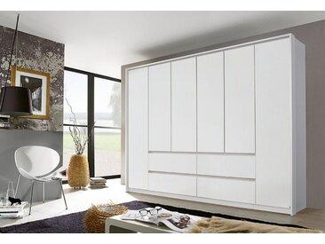 rauch PACK´S Kleiderschrank »Mainz«, ohne Spiegelelemente, weiß, 270 cm, 6-türig, weiß