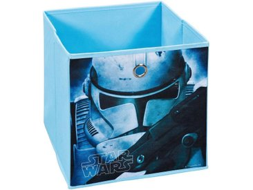 INOSIGN Faltbox »Star Wars I«, 3er Set, blau, Maße (B/T/H): 32/32/32 cm, blau