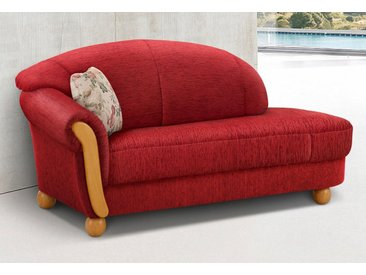 Home affaire Ottomane »Milano«, rot, 181 cm, rot