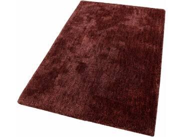 Esprit Hochflor-Teppich »Relaxx«, rechteckig, Höhe 25 mm, Besonders weich durch Microfaser, rot, 25 mm, burgund