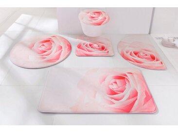 heine home Badgarnitur aus Memoryschaum, rosa, rosé