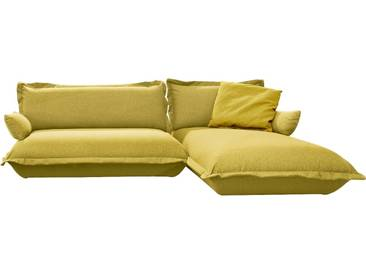 Tom Tailor TOM TAILOR Polsterecke »CUSHION«, flexibel montierbar, grün, mustard green TBO 5