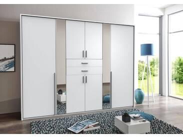 Wimex Kleiderschrank »Vanea«, Breite 270 cm, 8-türig, weiß