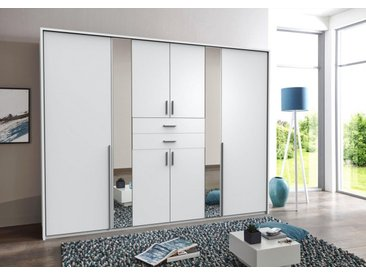 Wimex Kleiderschrank »Vanea«, weiß, 270x208x58 (BxHxT) cm, 8-türig, weiß