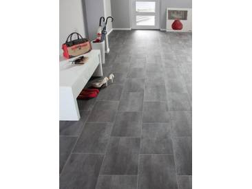 Andiamo ANDIAMO Vinylboden »Strong«, Fliese braun-grau, grau, 300 cm, braun/grau