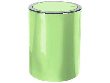 Kleine Wolke Schwingdeckel-Abfalleimer »Clap«, grün, hellgrün