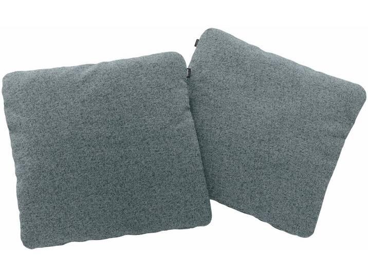Hülsta Sofa hülsta sofa Polsterkissen »hs.480« wahlweise in Stoff oder Leder, in drei Größen, blau, 60/60 cm, wasserblau/steingrau