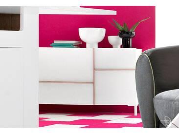INOSIGN Sideboard, Breite 150 cm, natur, weiß/eichenfarb. sägerau
