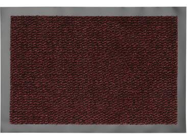 HANSE Home Fußmatte »Faro Line«, rechteckig, Höhe 10 mm, rot, 10 mm, rot