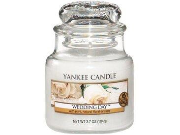 Yankee Candle Duftkerze »Classic Housewarmer Klein Wedding Day«