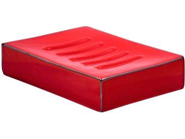 RIDDER Seifenschale »Chichi«, rechteckig, rot, rot