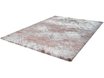 LALEE Teppich »Harmony 401«, rechteckig, Höhe 22 mm, natur, 22 mm, silberfarben-beige