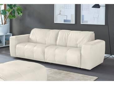 NATUZZI EDITIONS 3-Sitzer Ledersofa »Alessio« in zwei Lederqualitäten, weiß, white