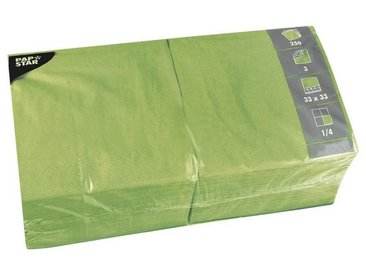 PAPSTAR 250er-Pack Servietten, grün, apfelgrün