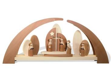 rauta Lichterbogen »mit Kurrende und Kirche« (1-tlg), Modernes Design, natur, natur