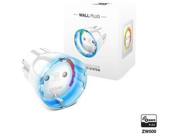 Fibaro Smart Home Zubehör »Zwischenstecker Schalter Typ F (Schuko)«, weiß, Weiß