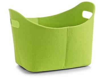 Zeller Present Zeller Filzkorb , Breite 37 cm, grün, grün